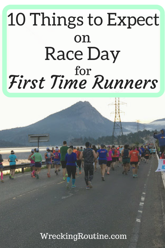 10 Things To Expect On Race Day For First Time Racers