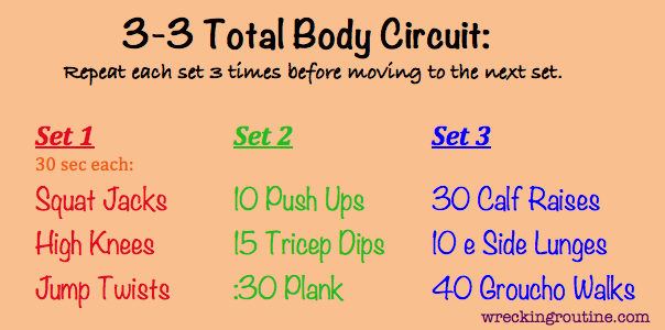 15 No Equipment Workouts