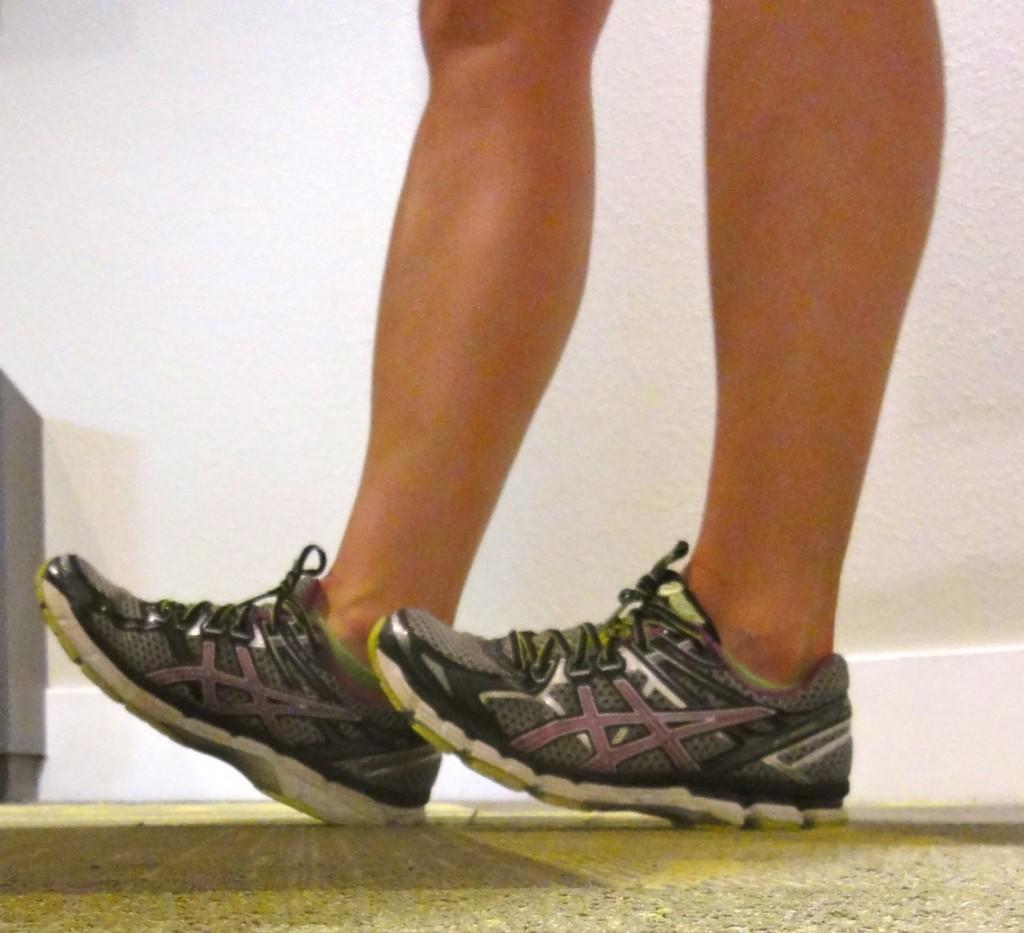 Preventing shin splints - walk on your heels