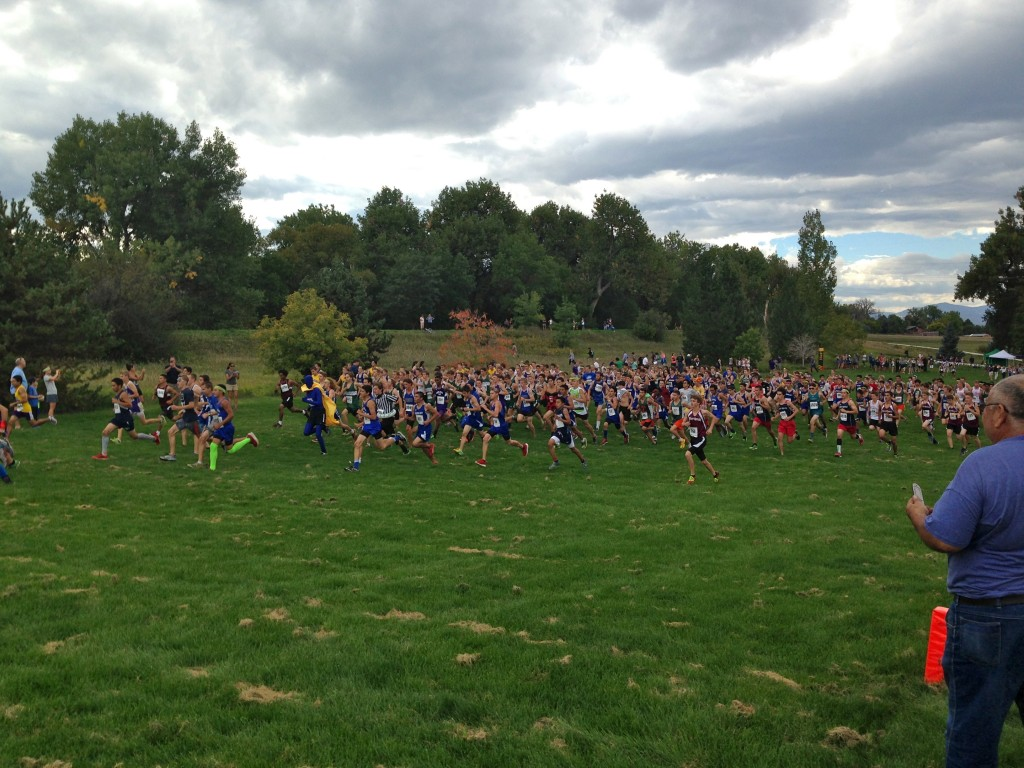 Cross Country Start Line