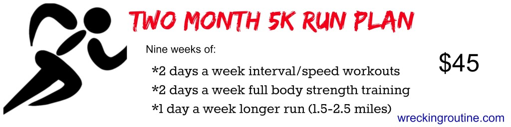 two month 5k training