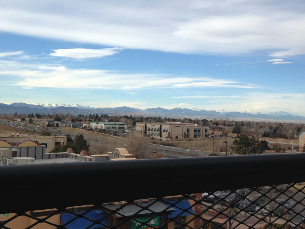 View from Lodo's Highlands Ranch