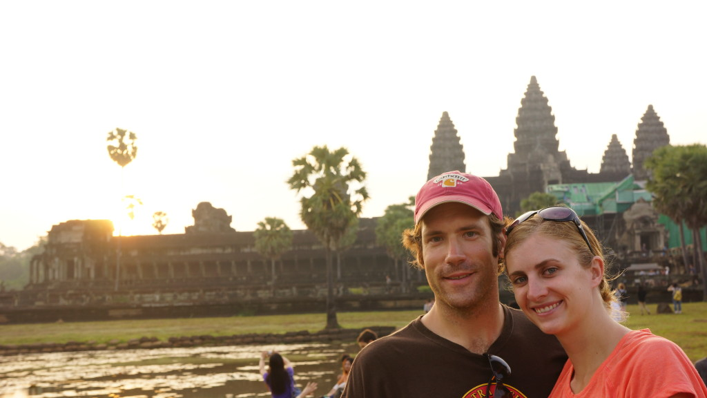 Rob and I at Angkor Wat