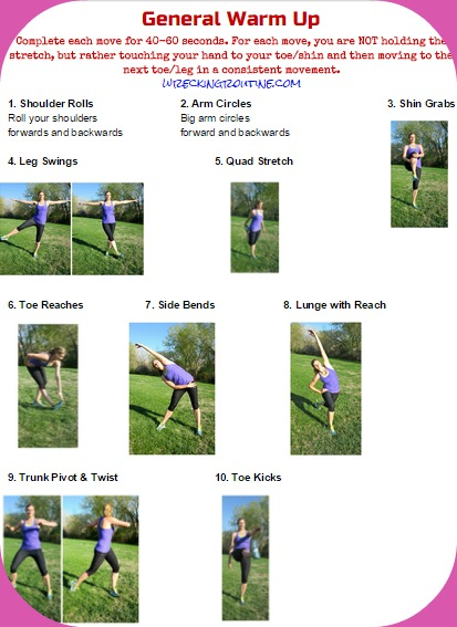 February Fitness Challenge 7 Days Workouts Middot General