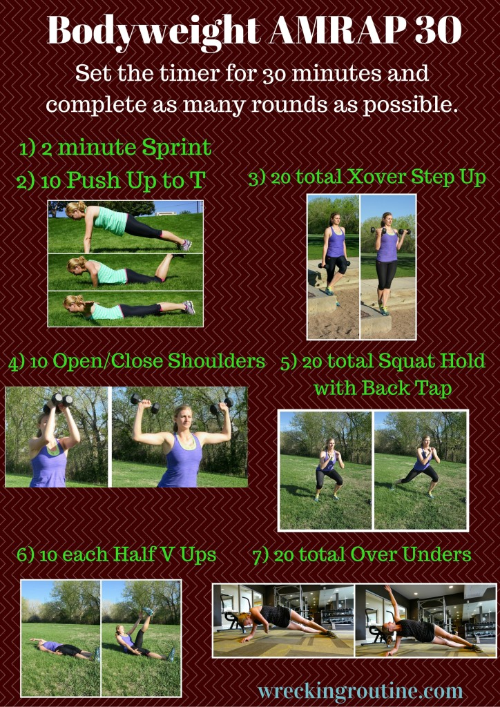 bodyweight amrap 30 workouts