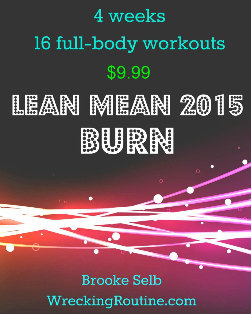 Lean Mean Poster