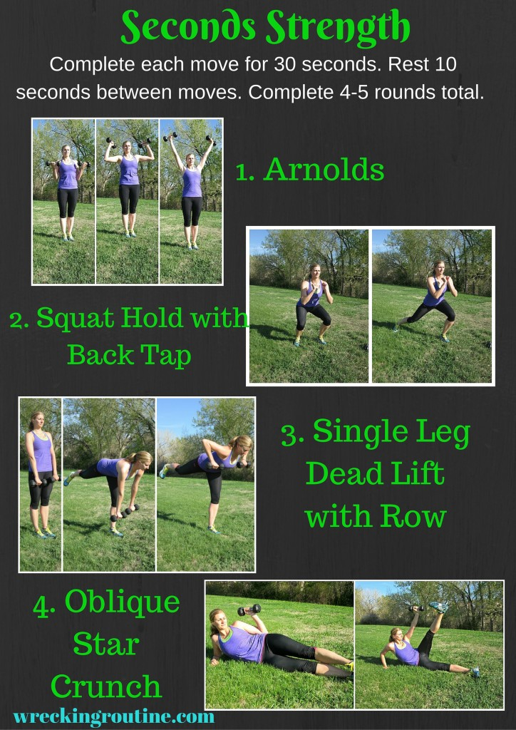 Seconds Strength Workout