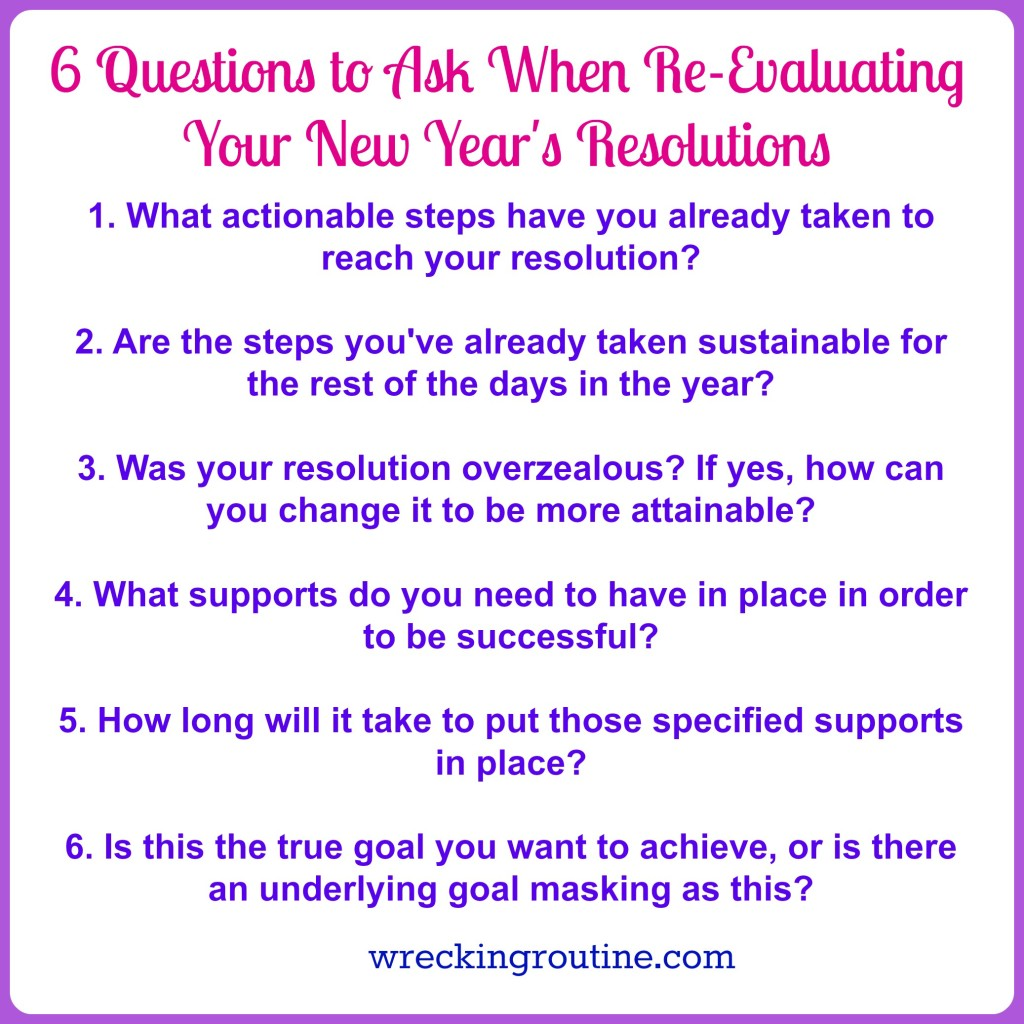 6 Questions to Ask When Re-Evaluating Your New Year's ...