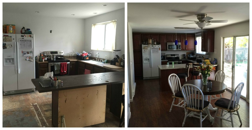 Pledge - Before and After House