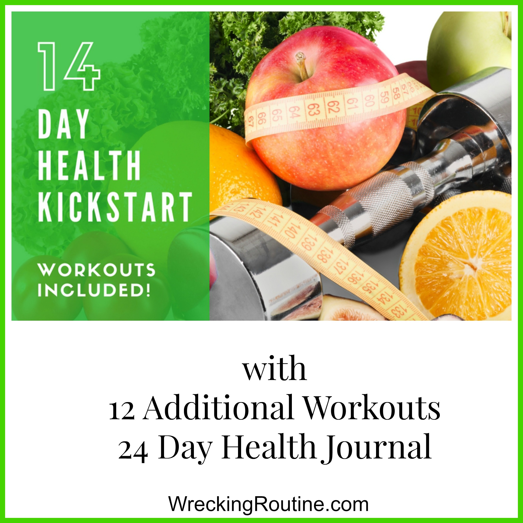 14 Day Health Journal