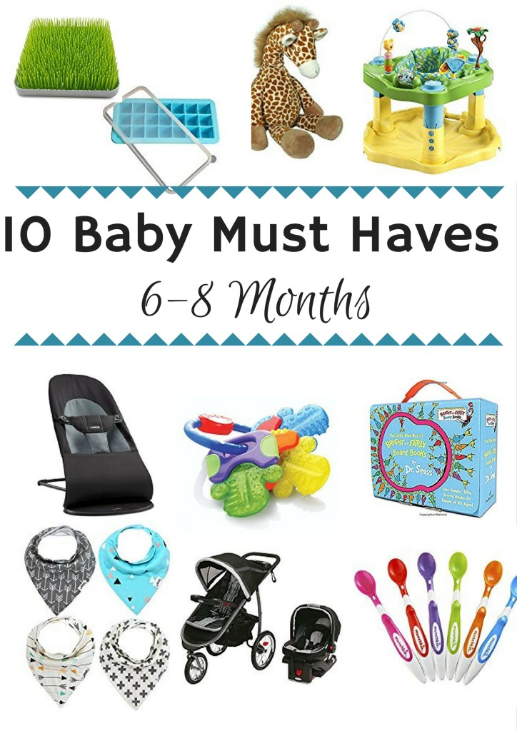 10 Must Have Makeup Palettes For 2017: Top 10 Baby Must Haves: 6-8 Months