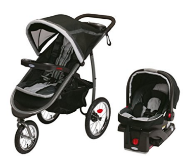 A Great Stroller - Graco Fastaction Fold Jogger Click Connect Travel System, Gotham 2015