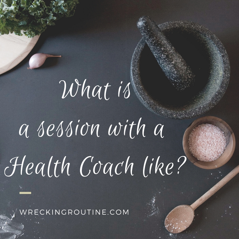 What is a session with a Health Coach like?