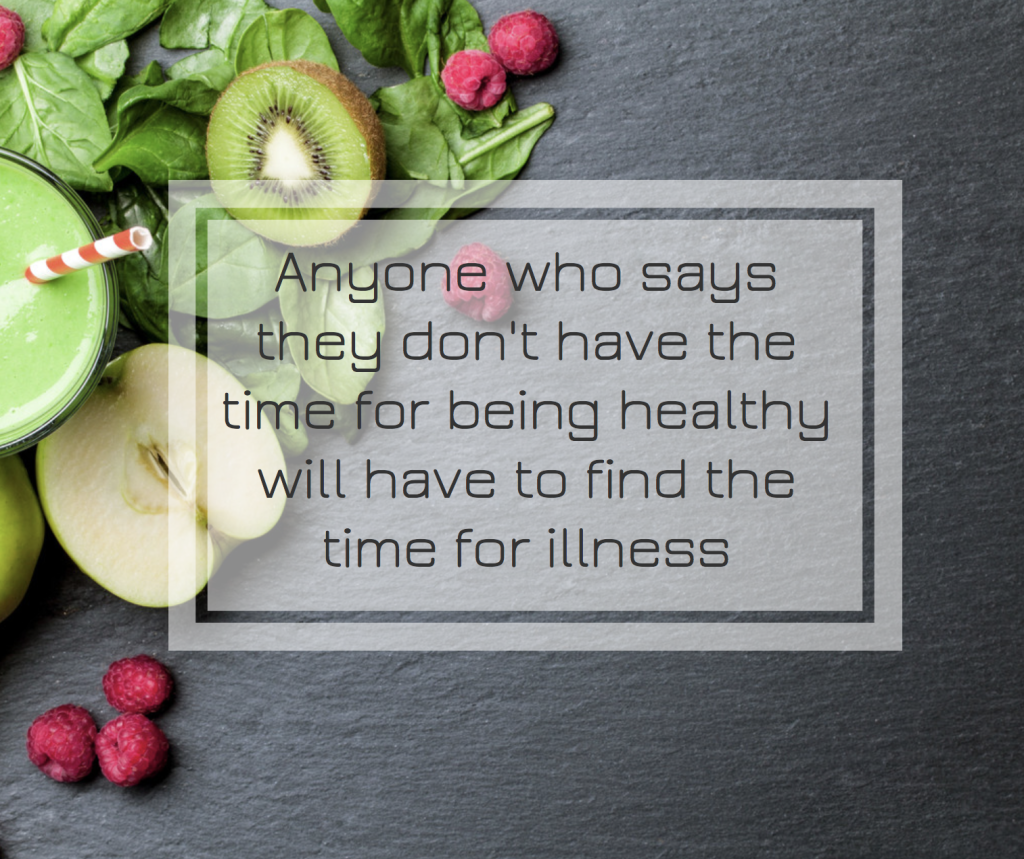 Time to be healthy or time for illness