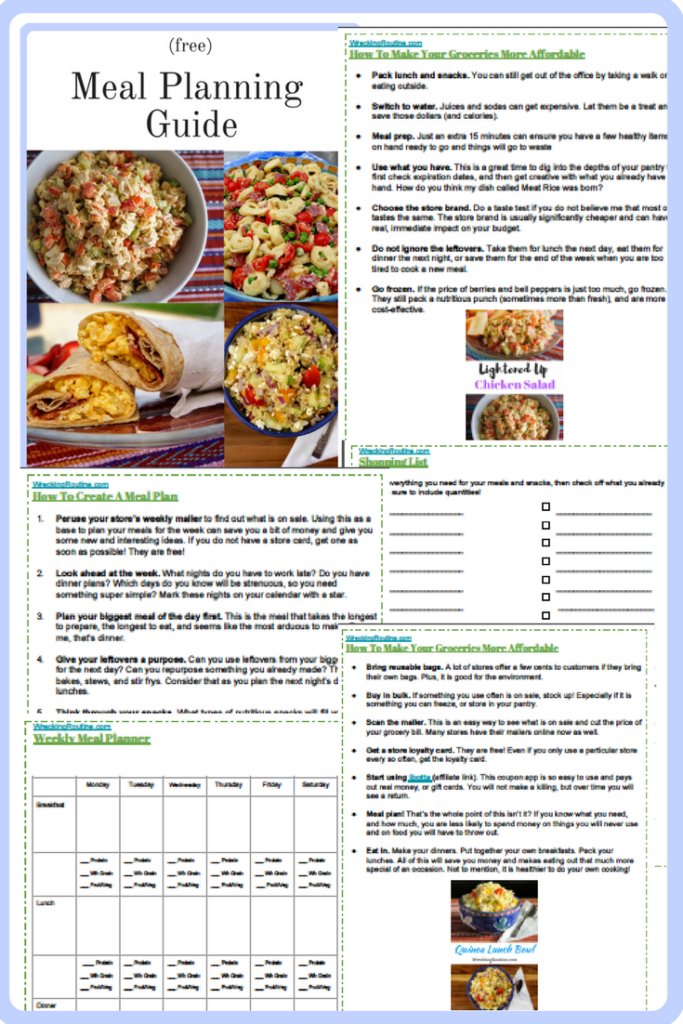 Meal Planning Guide (Free)