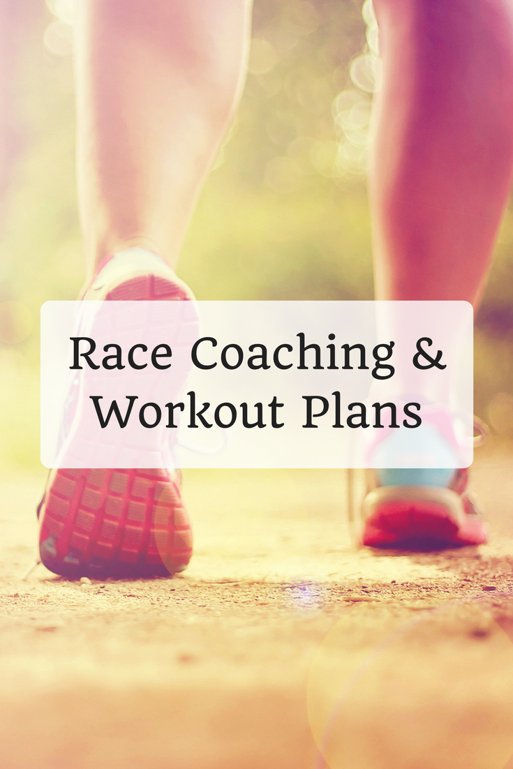 Race Coaching and Workout Plans
