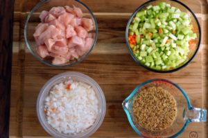 Spicy Chicken Rice Soup ingredients